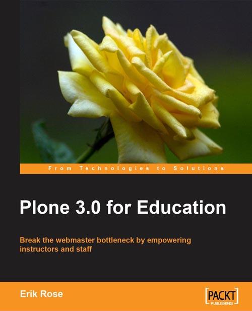 "Нова книга ""Plone 3 for Education"""