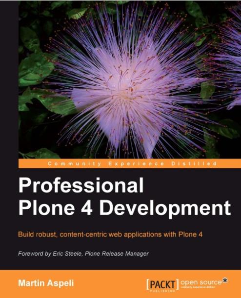 Книга про розробку на Plone 4